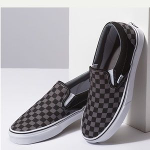 Vans | Black/Tan Slip-On Loafer Sneakers